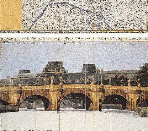 The Pont Neuf Wrapped II by Javacheff Christo