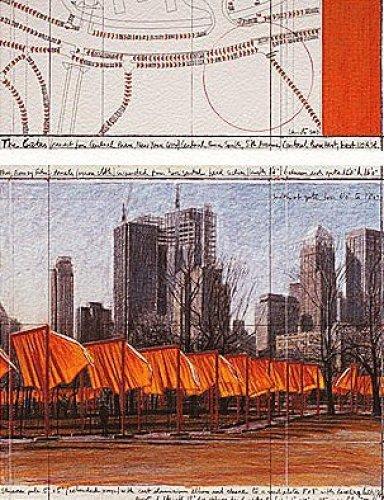The Gates XXIV by Javacheff Christo