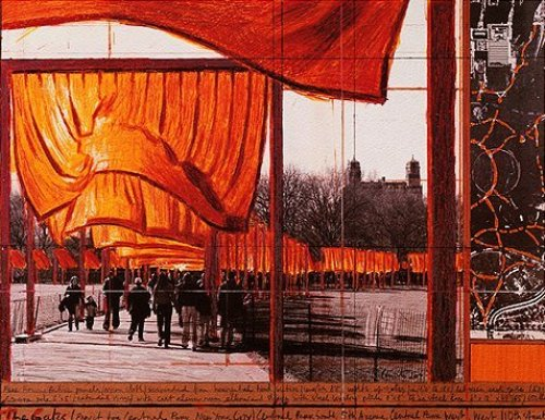 The Gates XXVI by Javacheff Christo