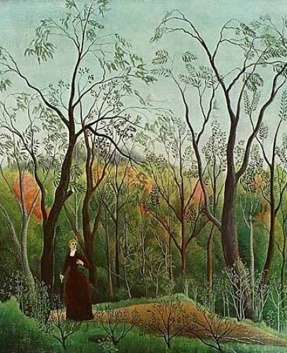 Walk in the Woods, 1886 by Henri Rousseau