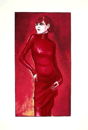 Bildnis der Tänzerin Anita Berber, 1925 by Otto Dix