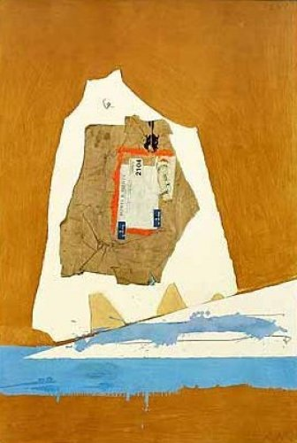 Cambridge Collage by Robert Motherwell