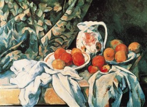 Still Life with Fruit by Paul Cezanne