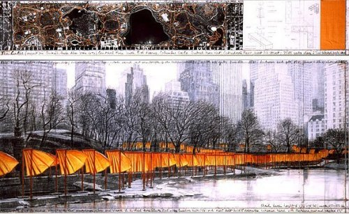 The Gates XXVII by Javacheff Christo