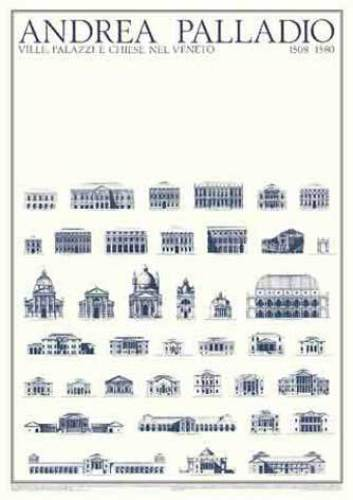 Completed Buildings by Andrea Palladio