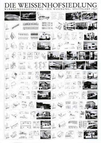 Stuttgart - Die Weissenhofsiedlung by Architekturplakate