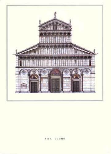 Pisa - Duomo by Architekturplakate
