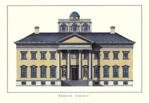 Wörlitz - Schloss by Architekturplakate