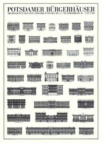 Potsdam - Potsdamer Bürgerhäuser by Architekturplakate