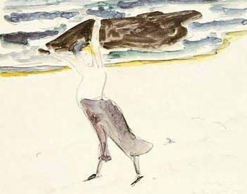 Im Wind, 1912 by Erich Heckel