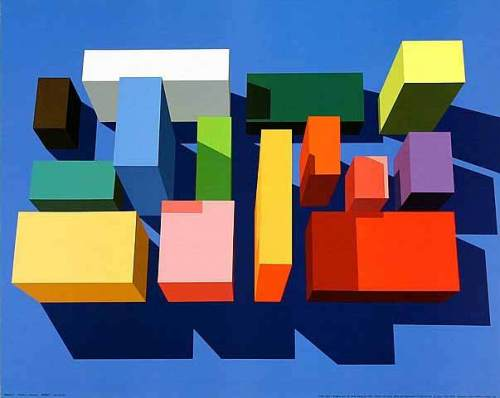 Imagine you can order these (4), 1992 by Julian Opie