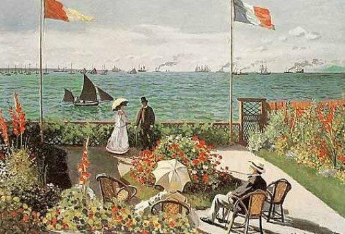 The Terrace at Saint-Adresse, 1867 by Claude Monet