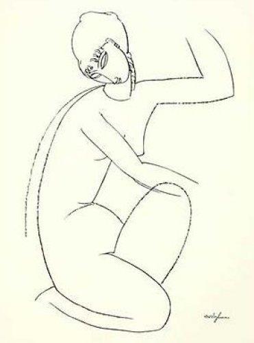 Nude Study 1 by Amedeo Modigliani