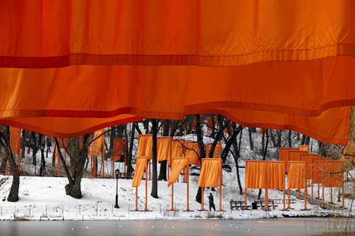 The Gates, Foto 52 von Sylvia Volz by Javacheff Christo