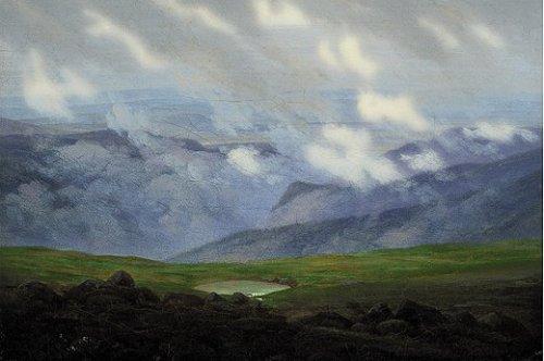 Ziehende Wolken by Caspar David Friedrich