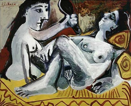The Two Friends, 1965 by Pablo Picasso