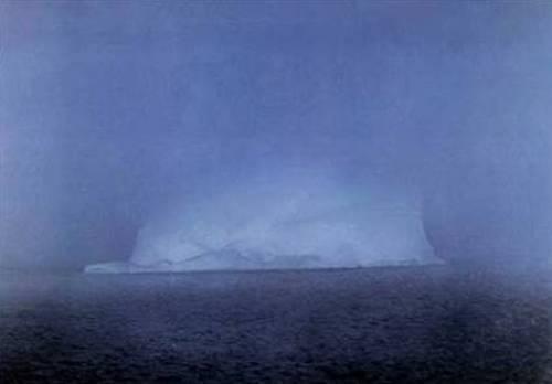 Eisberg im Nebel, 1982 by Gerhard Richter