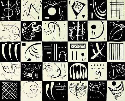 Trente (1937) by Wassily Kandinsky