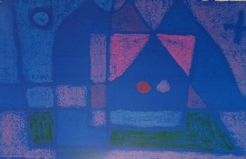 Ein Stübchen in Venedig by Paul Klee