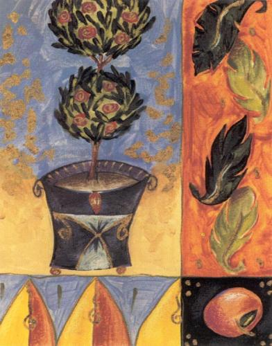 Topiary Treasures I by Liz Jardine