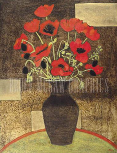 Oriental Poppies by Beverly Jean