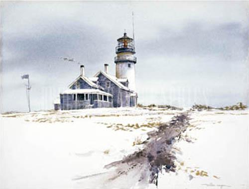 Cape Cod Lighthouse by William Mangum