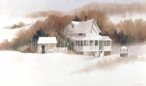Beckett Farm by Albert Swayhoover