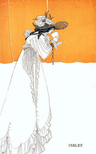 Isolde by Aubrey Beardsley