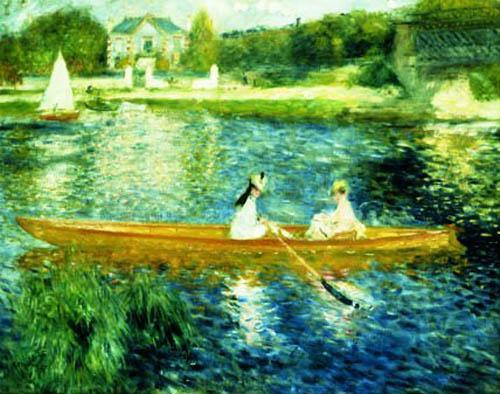 Boating on the Seine by Pierre Auguste Renoir