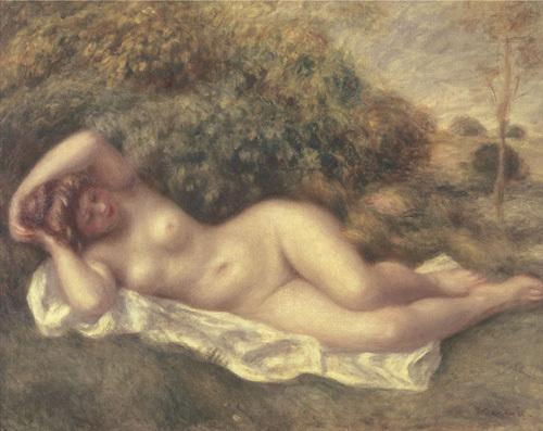 Nude by Pierre Auguste Renoir