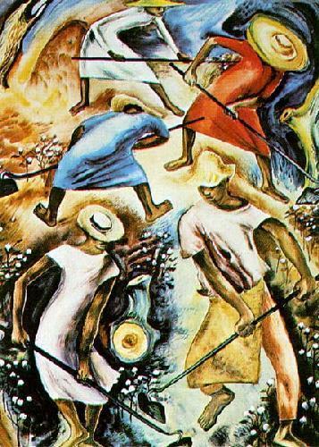 Poor Mans Cotton by Hale Aspacio Woodruff