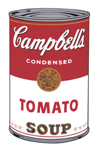 campbell 39 s soup i tomato 1968 art print by andy warhol king mcgaw. Black Bedroom Furniture Sets. Home Design Ideas