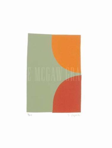 Two (Silkscreen print) by Denise Duplock