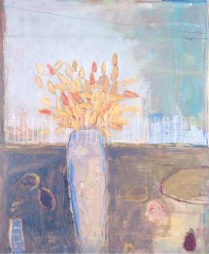 Still Life, Urban Yard by Stephen Dinsmore