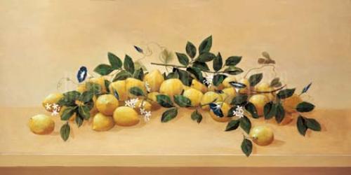 Lemons & Blossoms by Hampton Hall