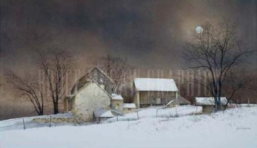 New Moon by Ray Hendershot