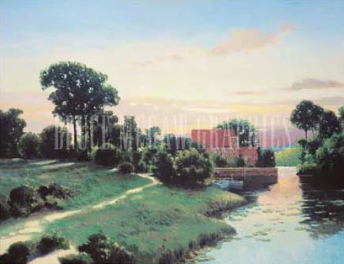 Old Mill Bluestone by Max Hayslette