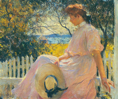 Eleanor, 1907 by Frank Weston Benson