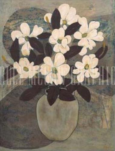 Magnolias by Beverly Jean