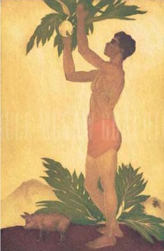 Breadfruit Boy, Hawaii by John Kelly