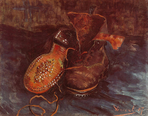 A Pair of Boots, 1887 by Vincent Van Gogh