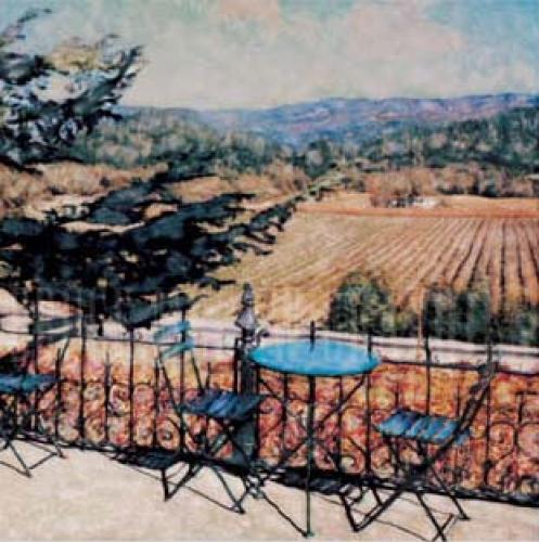 Spring Mountain Vineyards by Ernesto Rodriguez