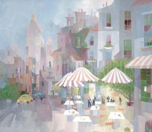 Place de Tertre by Albert Swayhoover