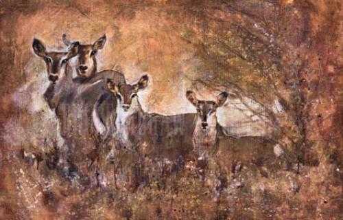 African Savannah I by Marta Wiley