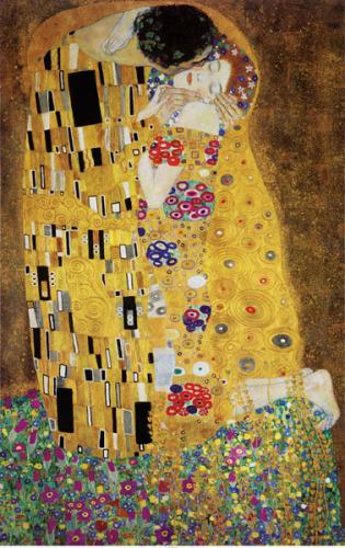 The Kiss by Gustav Klimt