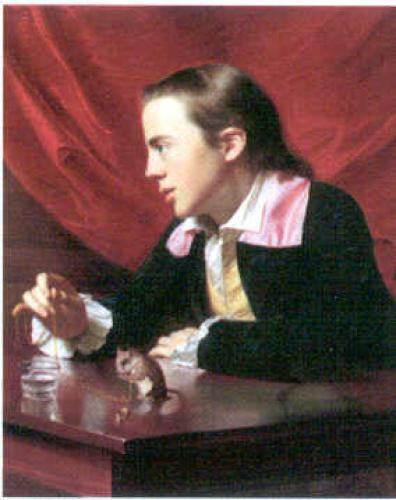 Henry Pelham (Boy with a Squirrel), 1765 by Copley