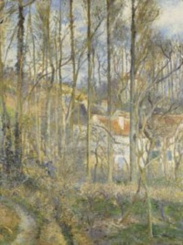 The Cote des Boufs at L'Hermitage by Camille Pissarro