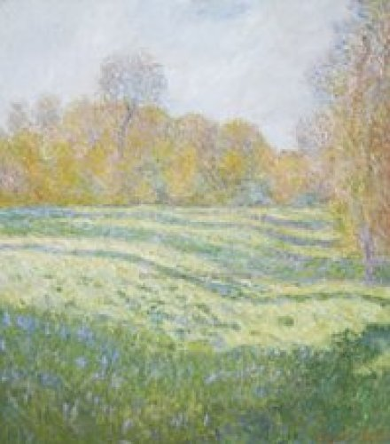 Meadow at Giverny by Claude Monet
