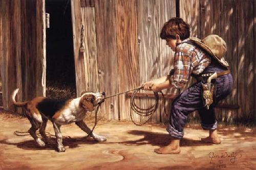 Just a Cowboy Buckaroo by Jim Daly