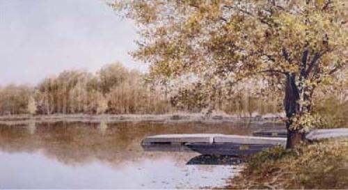 Boat Landing by Hendershot